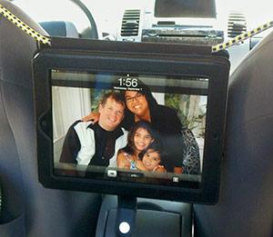 iPadcarholder