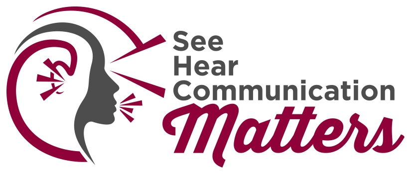 SeeHearCommunicationsMatter Logo